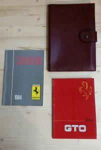 Portadoc+libretti Ferrari GTO